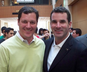 Phil Bundy and Kevin Plank