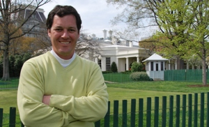 Phil Bundy at the White House Putting Green